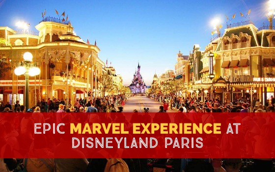 Epic Marvel Experience at Disneyland Paris Summer 2018 cover