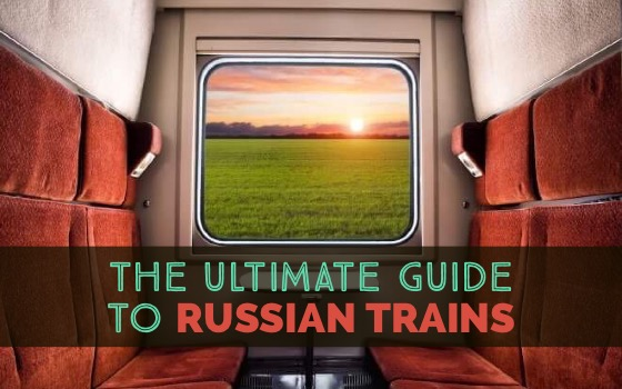 The Ultimate Guide to Russian Trains cover
