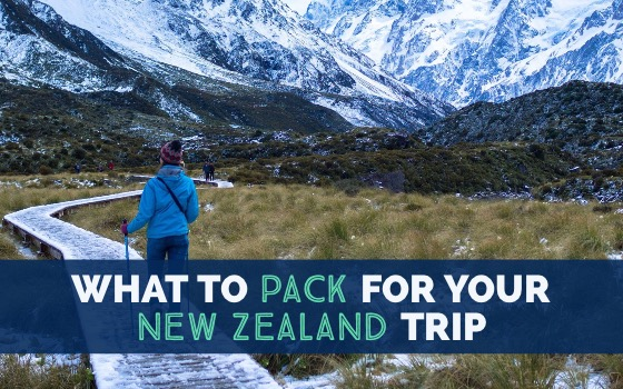 What to pack for your New Zealand trip all seasons list cover