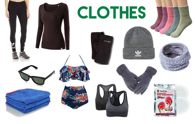 What to pack for your New Zealand trip clothes 2