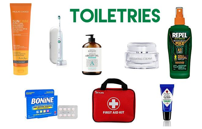 What to pack for your New Zealand trip toiletries