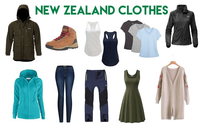 What to pack for your New Zealand trip clothes 1