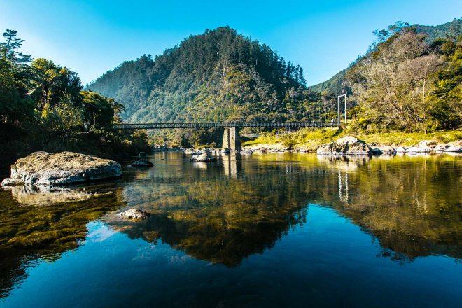 15 Things To Do in Coromandel Peninsula Karangahake Gorge reflection