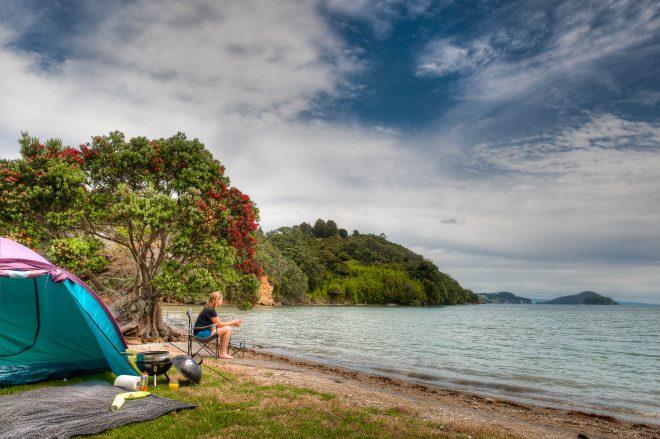 15 Things To Do in Coromandel Peninsula camping 3