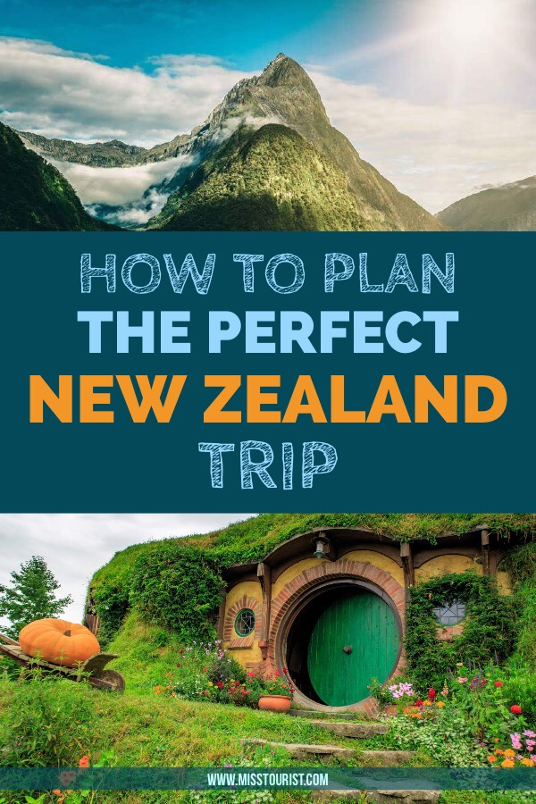 How To Plan Your Ideal Trip To New Zealand pin it for later 2
