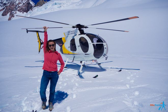 Ultimate South Island Road Trip in New Zealand glacier helicopter