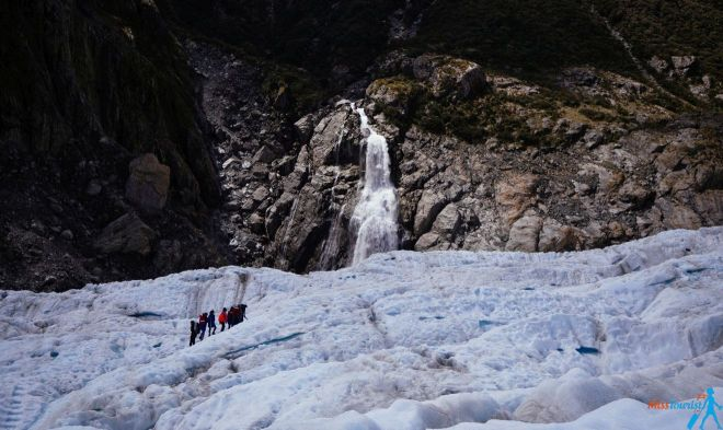Glacier walk fox New Zealand