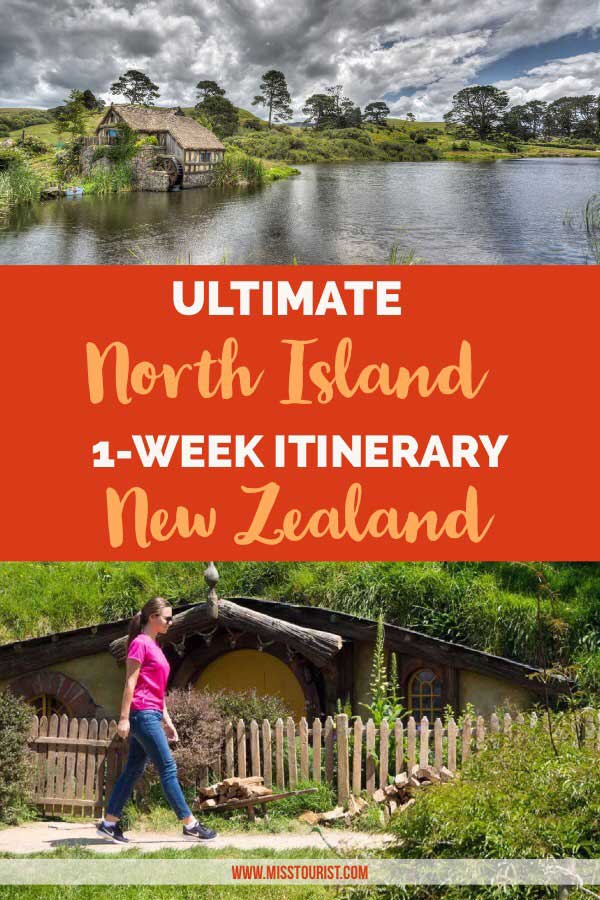 New Zealand North Island Itinerary  Days