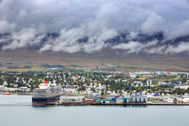 harbour of akureyri
