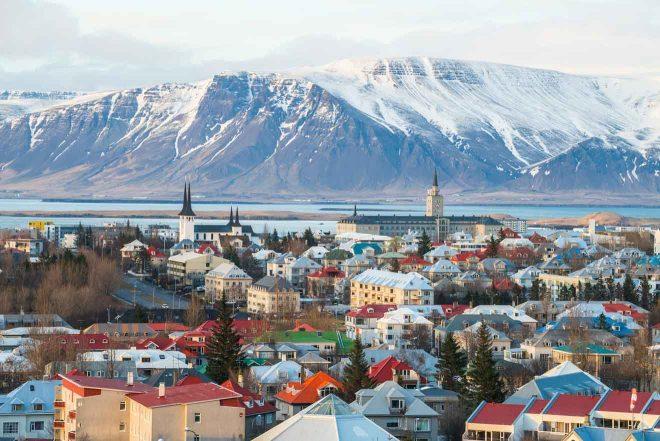 scenery view of reykjavik