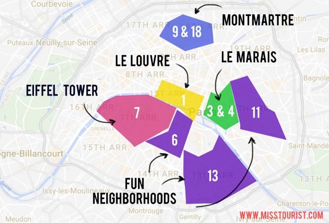 5 Neighborhoods To Stay In Paris (And Best Hotels For Each Of Them!)