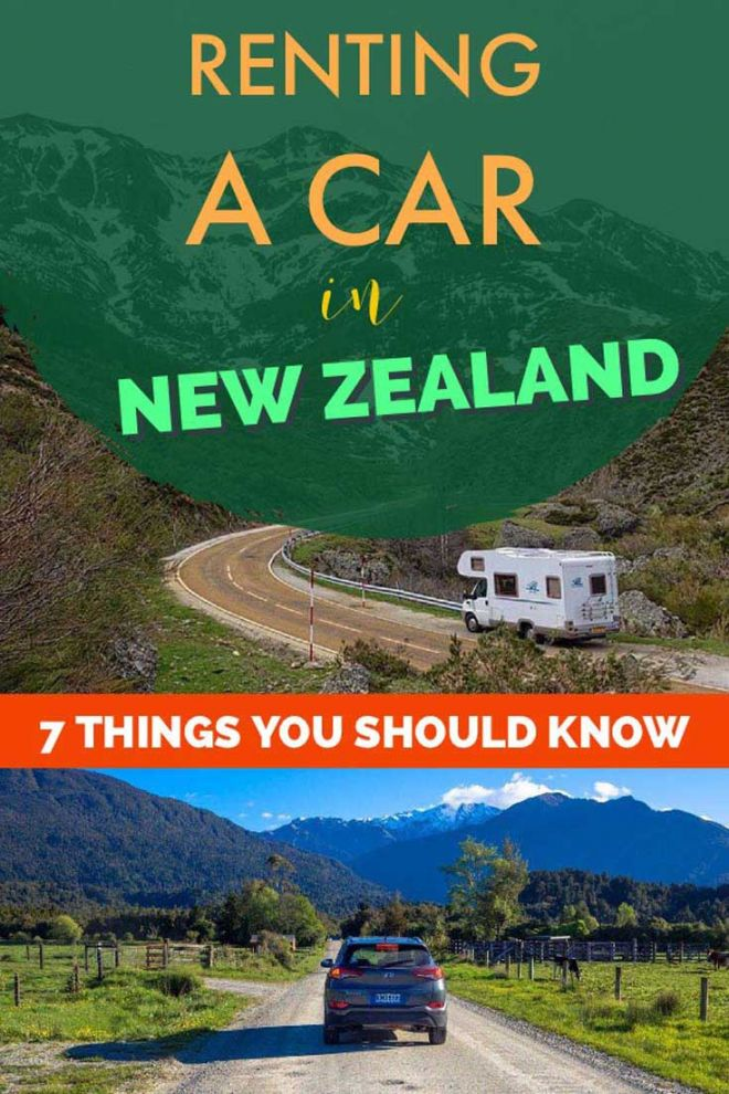 how to rent a car in new zealand