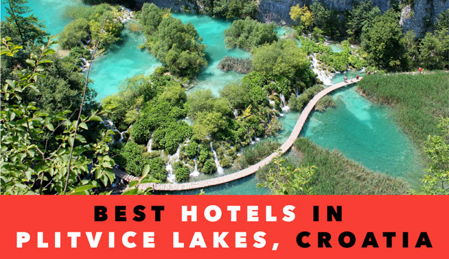 staying in plitvice lakes