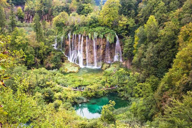 plitvice lake forest