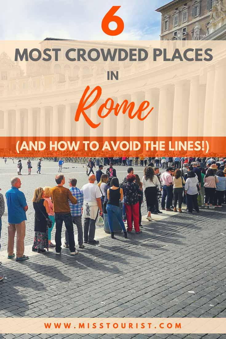 crowded rome