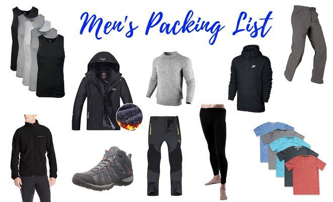Iceland All Seasons Packing List Men 1