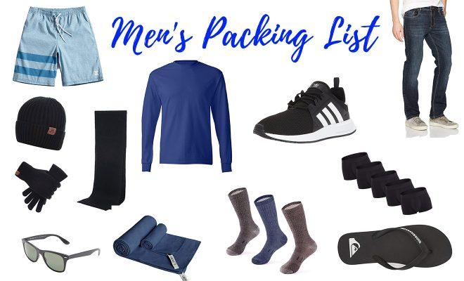 Iceland All Seasons Packing List Men 2