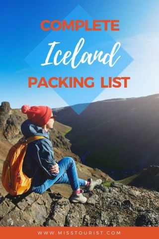 iceland packing list
