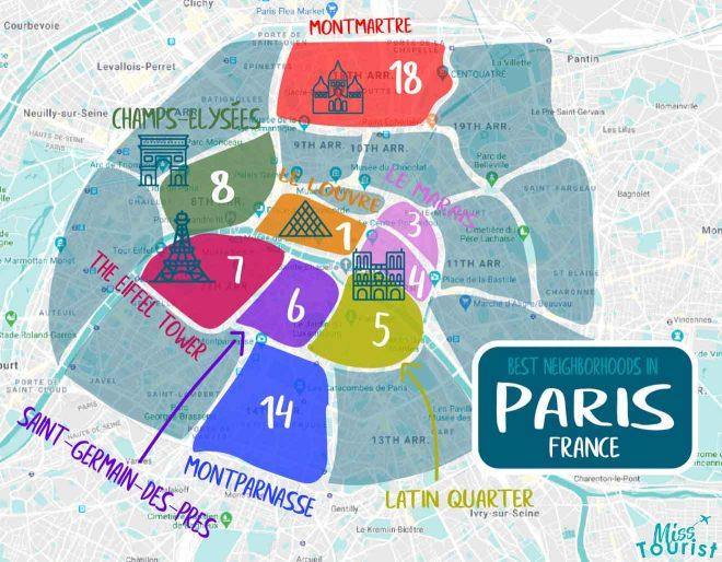 paris areas