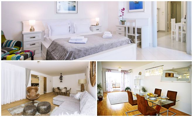 Where To Stay In Split Best Hotels apartments collage