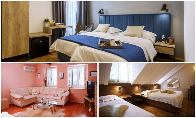 Where To Stay In Split Best Hotels family collage