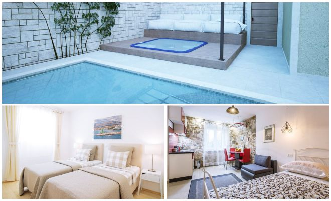 Where To Stay In Split Best Hotels villas collage