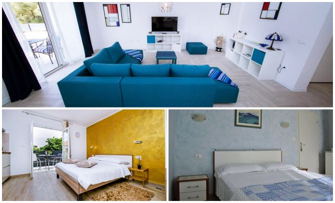 Where to stay in Rovinj The Best Hotels apartments collage