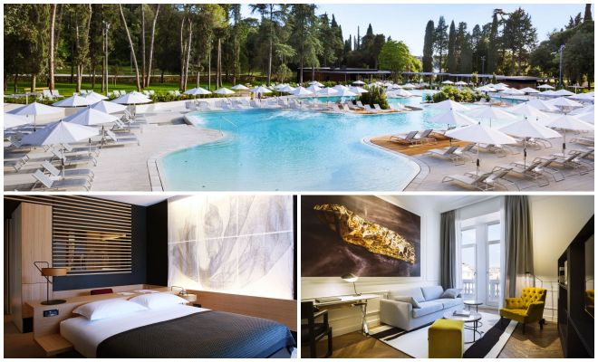 Where to stay in Rovinj The Best Hotels luxury collage