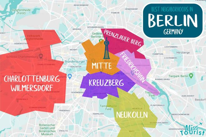berlin areas