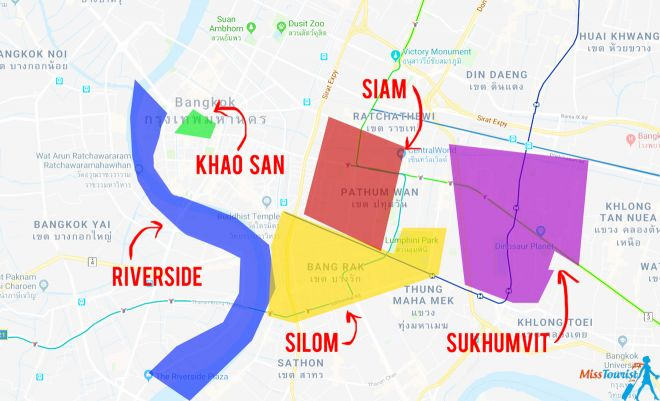 Bangkok neighborhoods resized