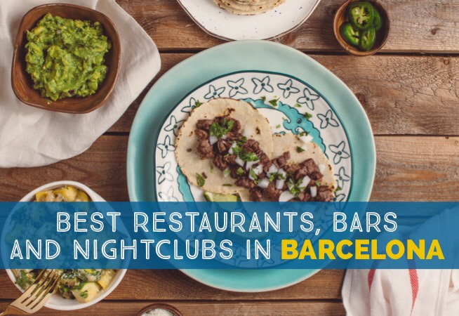 Going Out In Barcelona Best Restaurants Bars And Nightclubs cover