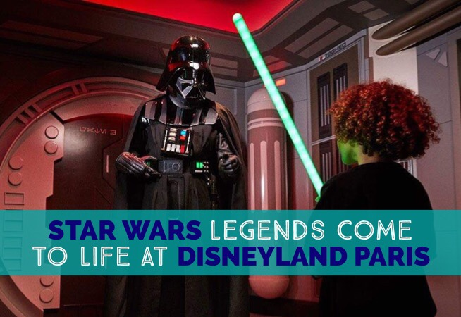 Disneyland Paris Legends of the Force