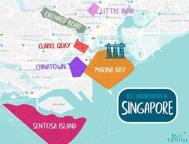 singapore distrcits