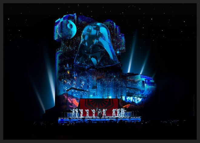 Legends of the force Star Wars Legends Come To Life At Disneyland Paris 3