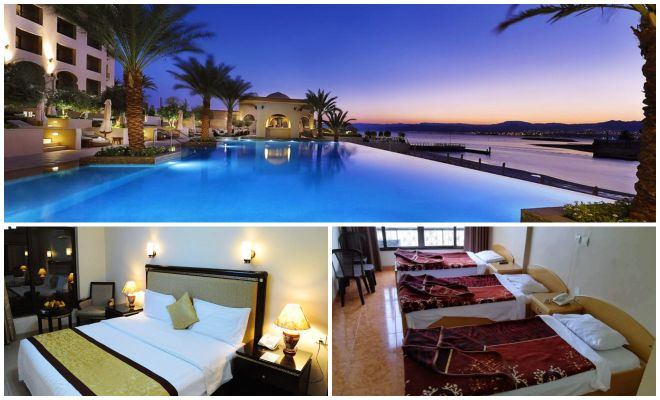 Jordan's Best Hotels – A Plan To Help You Book All Accommodation In Minutes Aqaba hotels