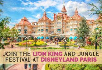 Disneyland Marvel + Lion King cover