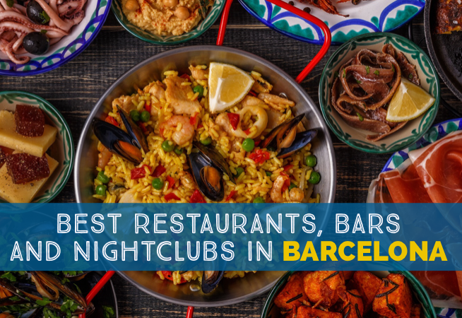 Going Out In Barcelona Best Restaurants Bars And Nightclubs cover 2