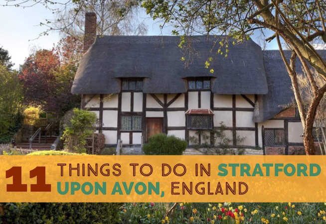 Best things to do in Stratford-upon-Avon England