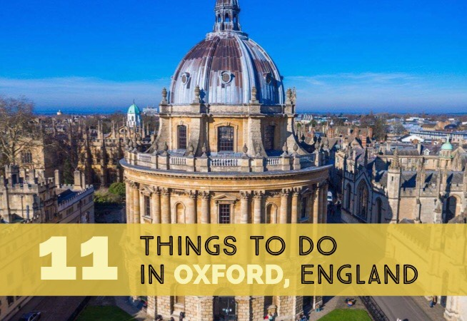 11 Things to do in Oxford cover