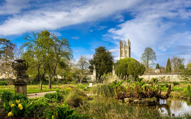 11 Things to do in Oxford oxford botanic garden