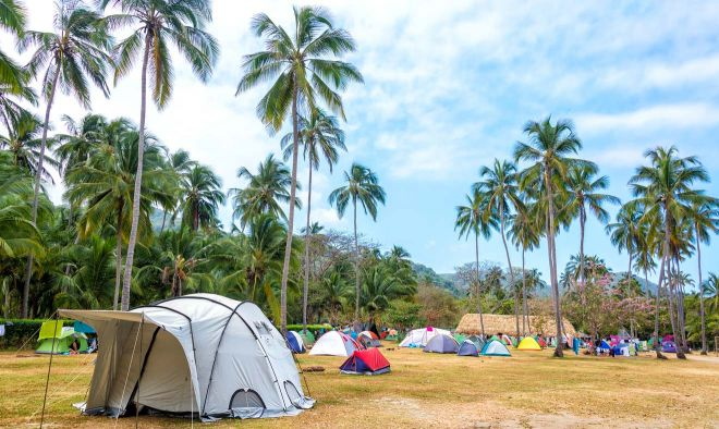Where To Stay In Tayrona National Park Colombia camp 1