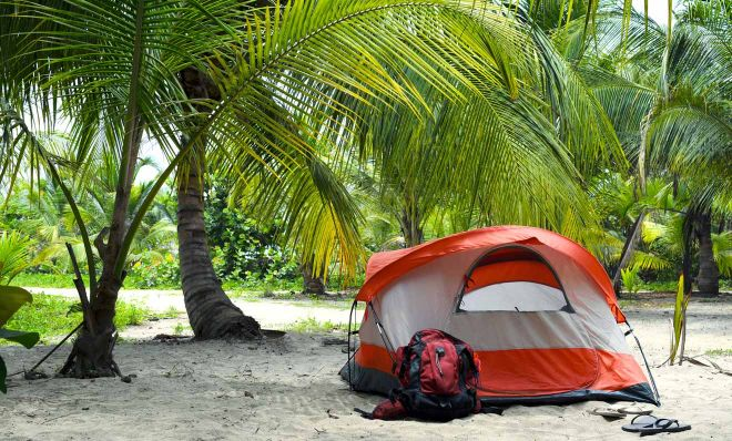 Where To Stay In Tayrona National Park Colombia camp 2