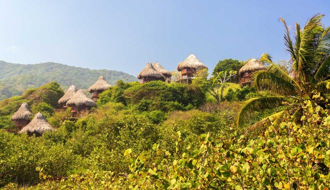 Where To Stay In Tayrona National Park Colombia eco habs