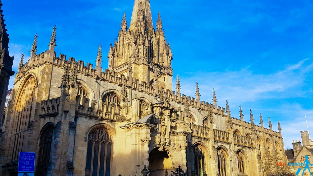 11 Things to do in Oxford University Church of St Mary the Virgin