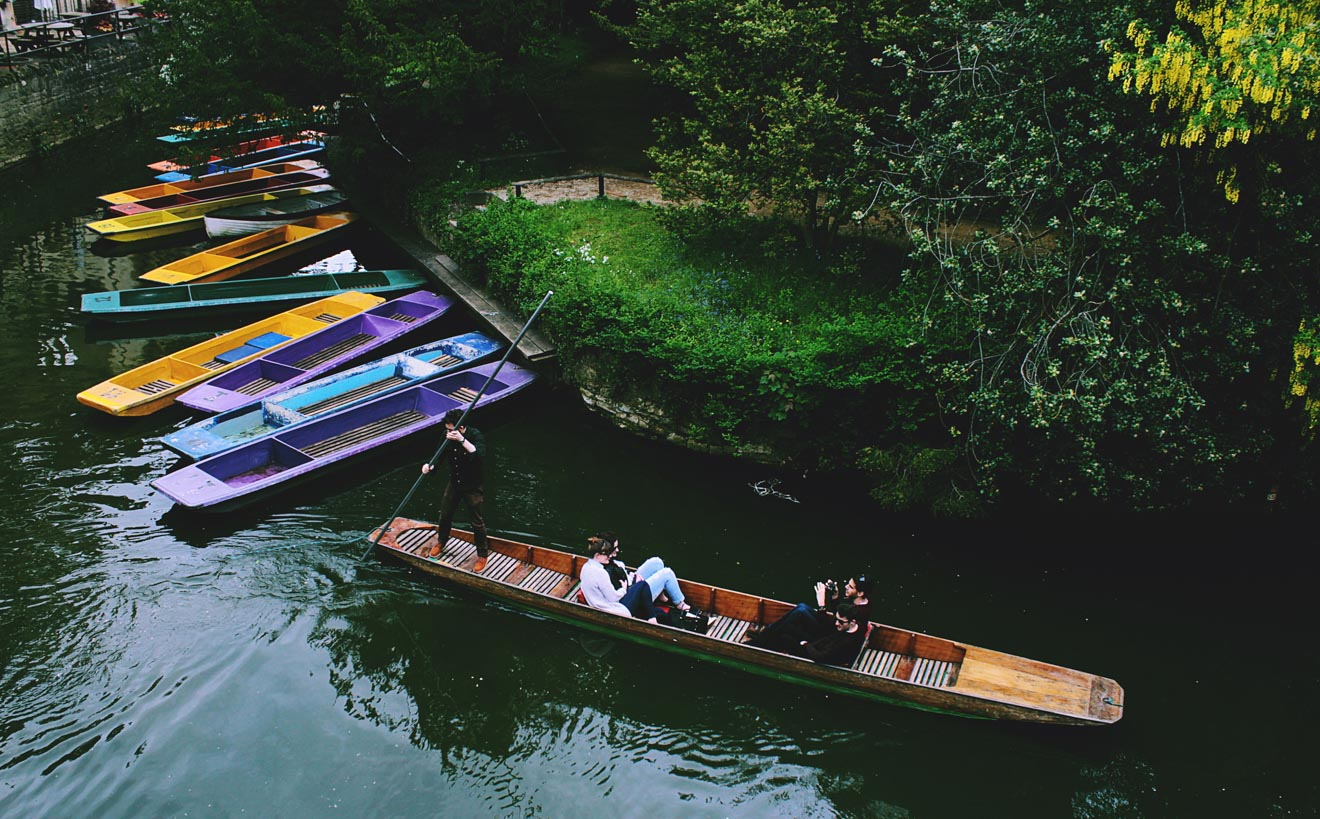 11 Things to do in Oxford punting 2