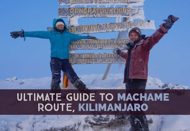 An Ultimate Guide To Machame Route In Kilimanjaro day-by-day itinerary in my experience