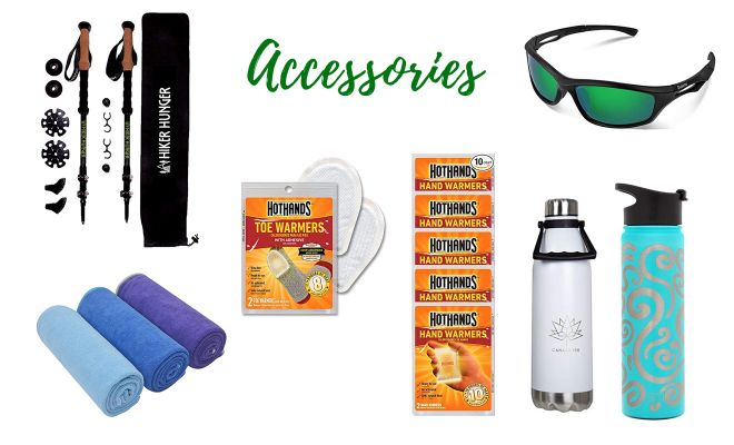accessories kilimanjaro packing list