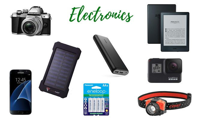 Kilimanjaro complete packing list Electronics