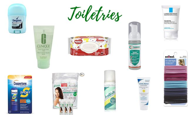 toiletries kilimanjaro packing list