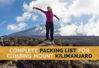 The Complete Packing List For Climbing Kilimanjaro in Tanzania